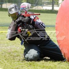 Outdoor Paintball in Spring